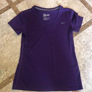 Purple Nike top (x2) purple